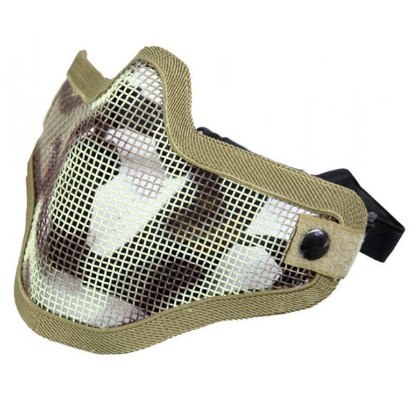 Bravo V1 Steel Half Face Mesh Mask