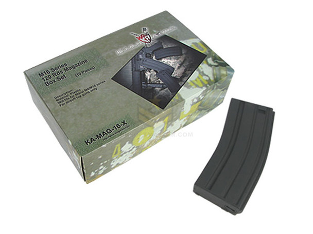 King Arms M4 Mid-Cap Magazine Box Set of 10