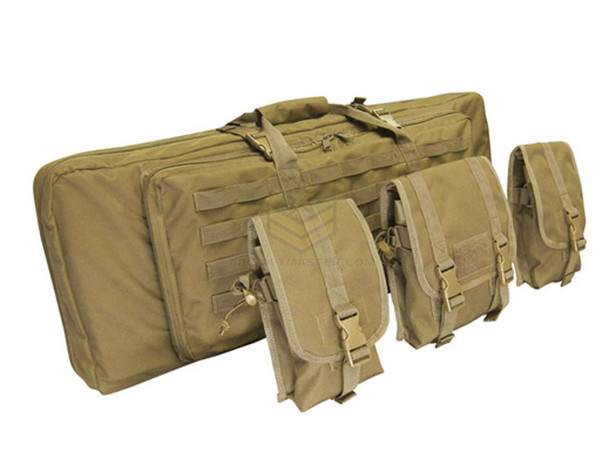 "Condor 42"" Double Rifle Case Tan"