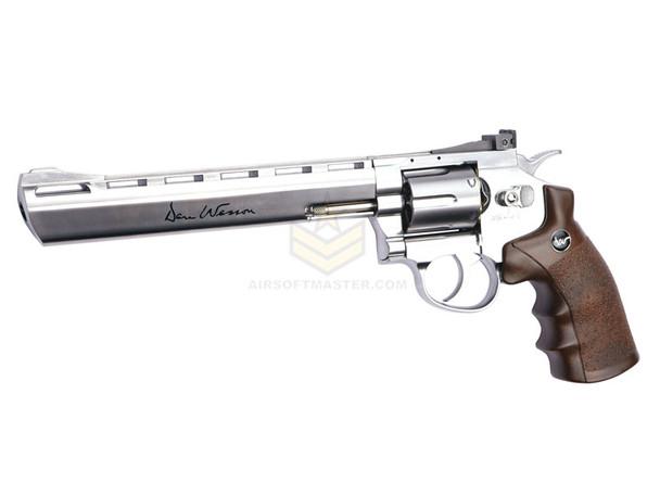 """ASG Dan Wesson 8"""" CO2 Revolver - Silver"""
