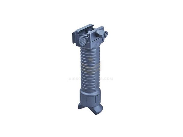 Trinity Force Vertical Grip/Bipod with rail - Black