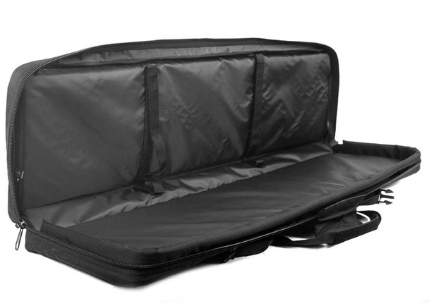 "Gryffon Aerie 36"" Rifle Case Inner view"
