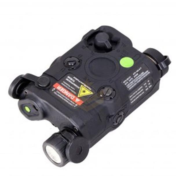 Bravo PEQ15 Flashlight and Green Laser Combo Black