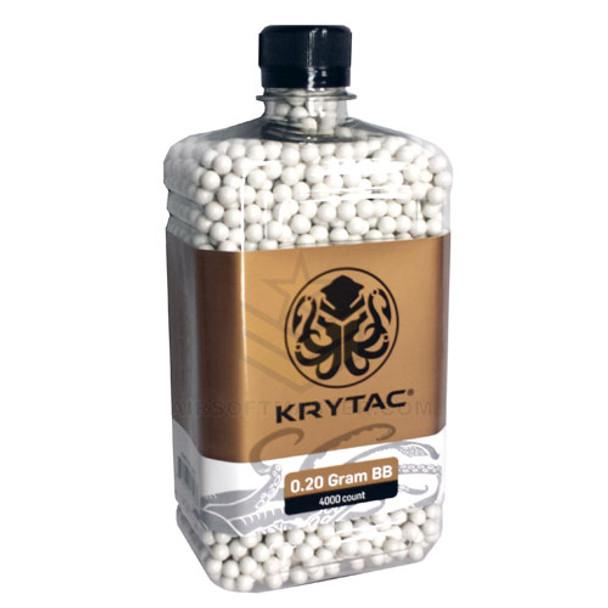 Krytac .20g Quality BB 4000ct Bottle