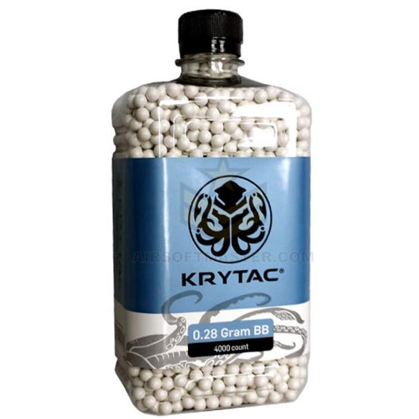 Krytac .28g Quality BB 4000ct Bottle