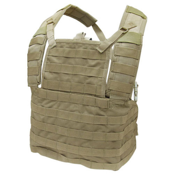 Condor MCR1 Modular Chest Rig in Tan