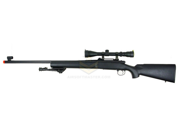 KJW M700 Gas Bolt Action Sniper Rifle Black