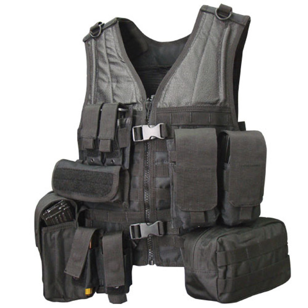 Condor MVP Complete Modular Tactical Vest - Black