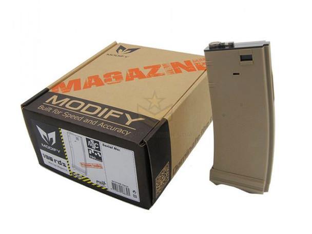 Modify XTC M4 Mid-Cap Magazine 190 Rounds Tan 5-Pack