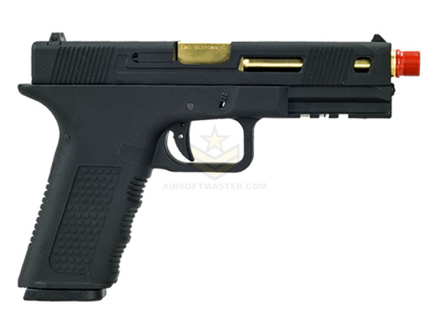 Echo1 Timberwolf Xtreme XTR Gas Blowback Pistol Black