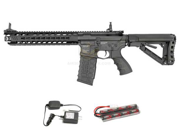 G&G GC16 Predator Full Metal Black Combo