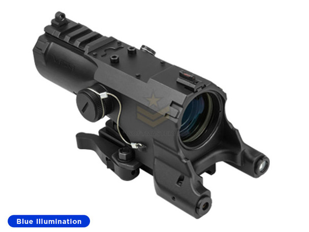 NcStar ECO 4x34 Scope w/ Green Laser and Nav LED Black