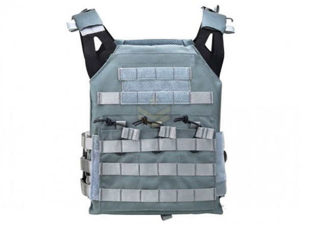 Defcon JPC Style Low Profile Plate Carrier Gray
