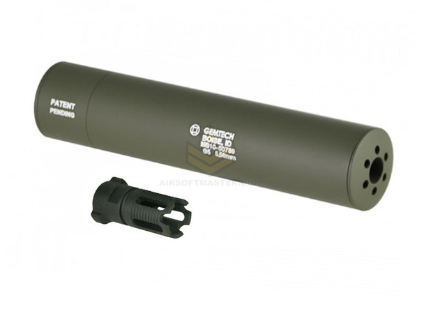 Madbull Gemtech G5 QD Mock Suppressor OD w/ Flash Hider