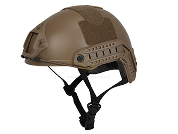 Lancer Tactical Basic Fast Helmet Tan