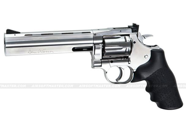"""ASG Dan Wesson 715 Revolver 6"""" CO2 Silver"""