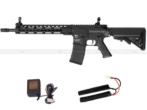 Classic Army M4 KM-12 Keymod Skirmish AEG Black
