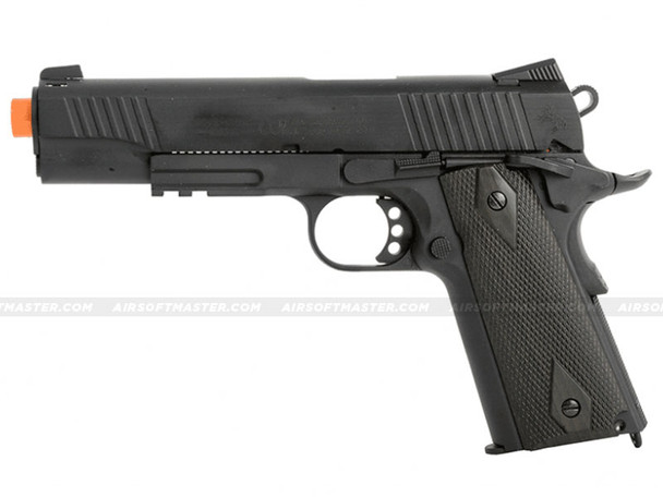 Colt 1911 Rail Government GBB CO2 Airsoft Pistol Black