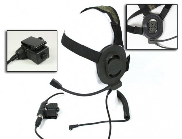 Bravo Headset for Motorola - One Pin (BM)