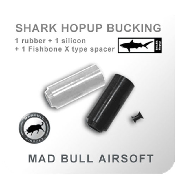 Madbull Shark Bucking w/ Fishbone Spacer