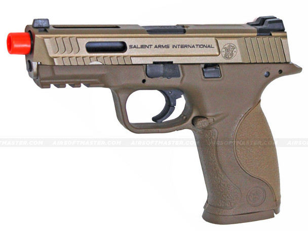 Salient Arms SAI M&P 9 Full Size Airsoft Pistol Tan by EMG