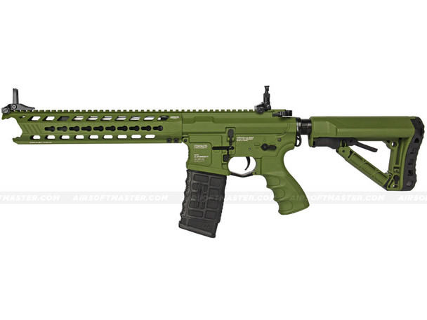 G&G GC16 Predator Full Metal Airsoft Gun Hunter Green
