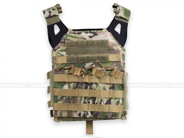 Defcon JPC Style Low Profile Plate Carrier Camo