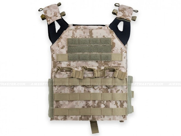 Defcon JPC Style Low Profile Plate Carrier Digital Desert