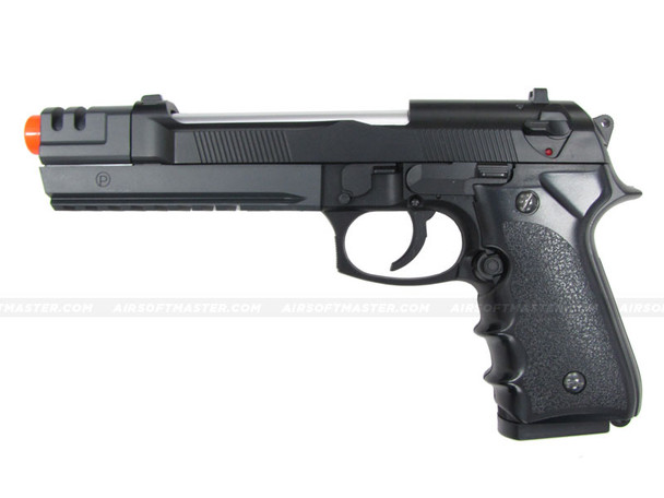 HFC M9 Heavy Weight Srping Pistol w/ Compensator Black
