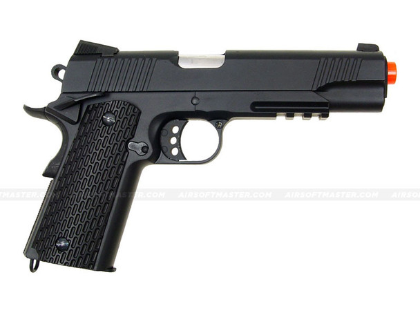 DE 1911 MEU Airsoft Spring Pistol Full Metal Black