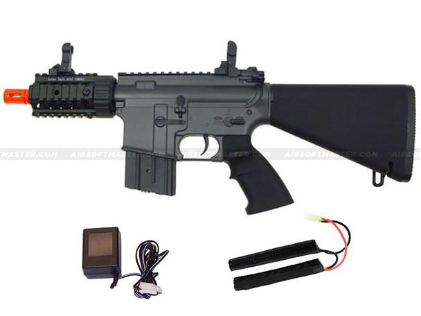 JG Stubby Killer M4 CQB Airsoft Gun Black