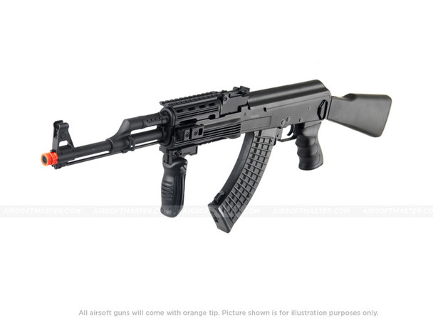 G AK47 Tactical Electric Airsoft Gun Black