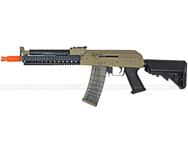 The JG AK-47 RIS Electric Airsoft Gun Tan