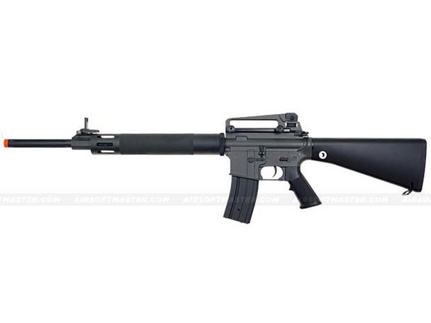 The  JG M16 UFC AEG Rifle Electric Airsoft Gun Black