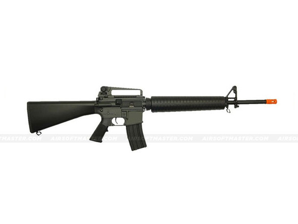 The JG M16A3 Airsoft Electric Rifle Black