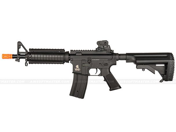 The Lancer Tactical M4 AEG w/ RAIL INTERFACE SYSTEM Black