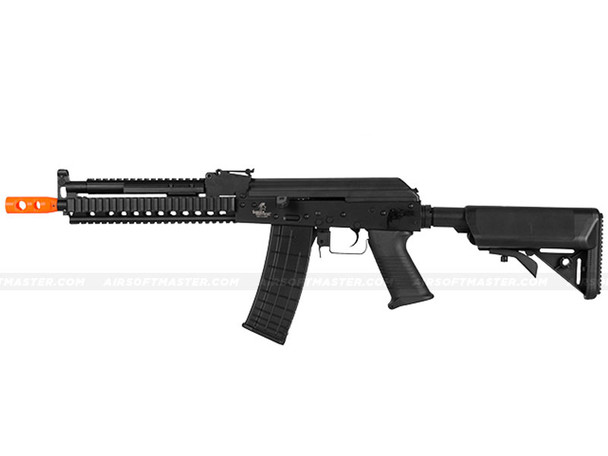 The Lancer Tactical Beta Project Tactical AK RIS Airsoft Electric Rifle Black