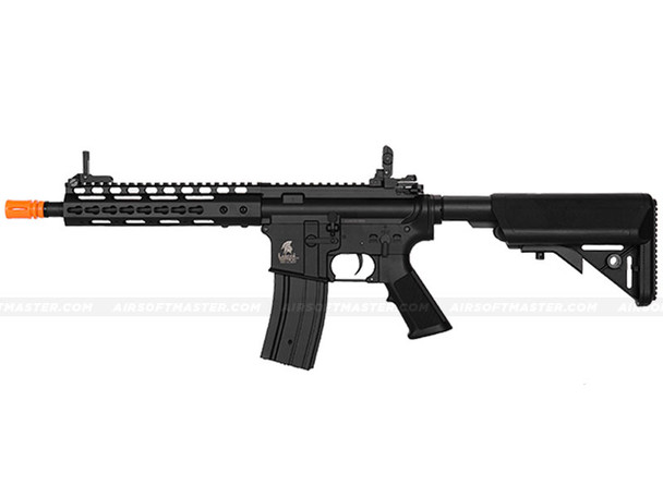 The Lancer Tactical M4 Airsoft Electric Rifle