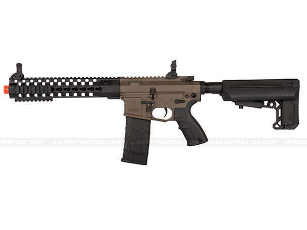 The Lancer Tactical 10.5 Inch Advance Recon Carbine Dark Earth