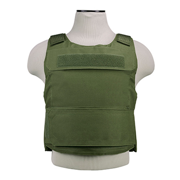 The NcStar CVPCVD2975G Discreet Plate Carrier Olive Drab Green