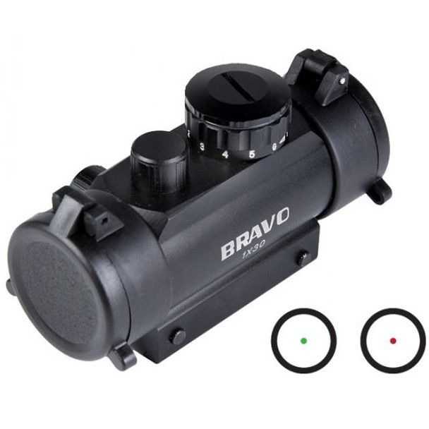 Bravo 1x30 Red/Green Dot Sight 1