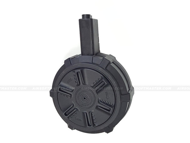 G&G ARP9 Drum Magazine 1700-Rds Black