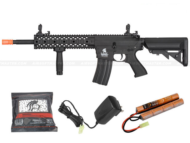 Lancer Tactical LT-12B Gen 2 Airsoft Gun Black