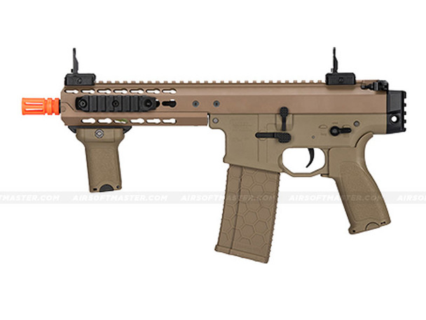 "LT-200TC Warlord 8"" SMG Airsoft Gun Dark Earth"
