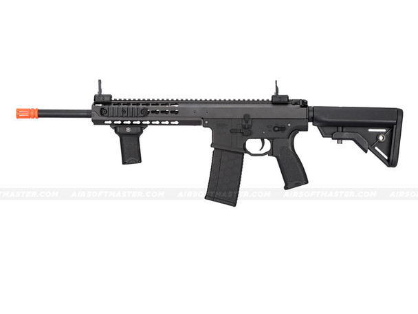 "Lancer Tactical LT-201BB Warlord 10.5"" Carbine Airsoft Gun Black (Crane Stock)"