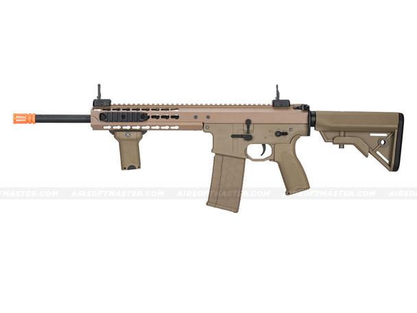 "Lancer Tactical LT-201TB Warlord 10.5"" Carbine Airsoft Gun Dark Earth (Crane Stock)"