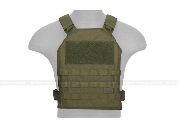 Lancer Tactical CA-1512GN Basic Plate Carrier OD Green