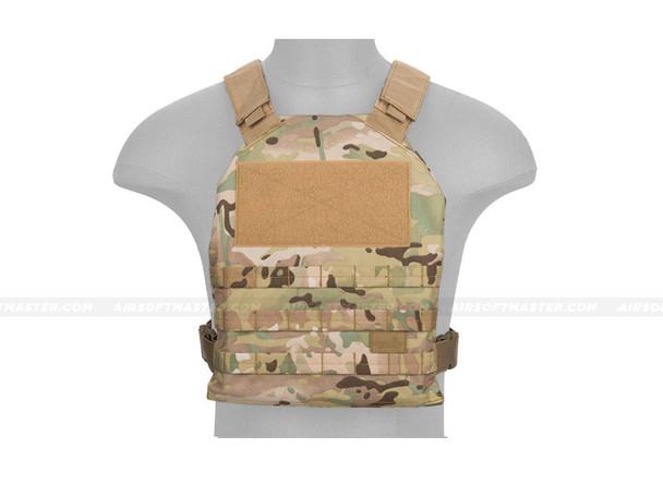 Lancer Tactical CA-1512CN Basic Plate Carrier Multicam