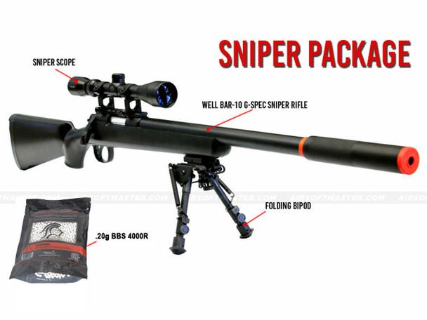 Well BAR-10 G-Spec Sniper Package