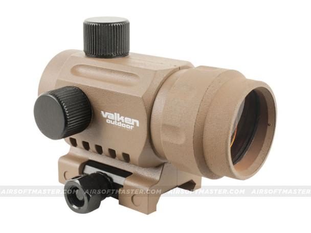 alken RDA20 Mini Red Dot Sight Tan